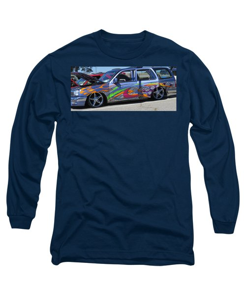 Rolling Art Lowrider Long Sleeve T-Shirt