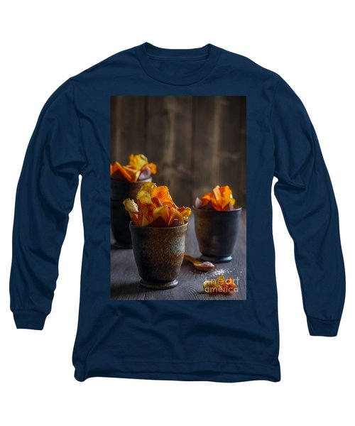 Root Vegetable Crisps Long Sleeve T-Shirt
