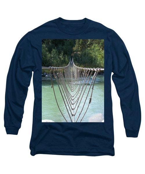 Rope Foot Bridge Long Sleeve T-Shirt