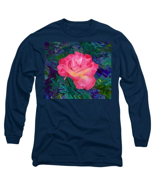 Rose In The Matter Of Your Hand V7 Long Sleeve T-Shirt