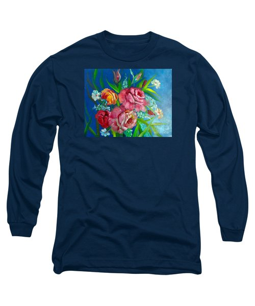 Roses Roses Jenny Lee Discount Long Sleeve T-Shirt