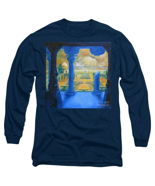 Ruins Of Lankapura Long Sleeve T-Shirt by Samantha Geernaert