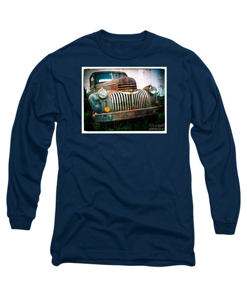 Rusty Old Chevy Pickup Long Sleeve T-Shirt