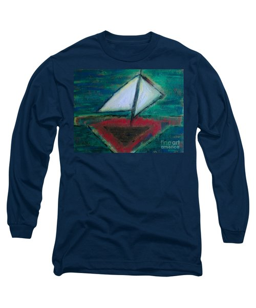 Sailboat Long Sleeve T-Shirt