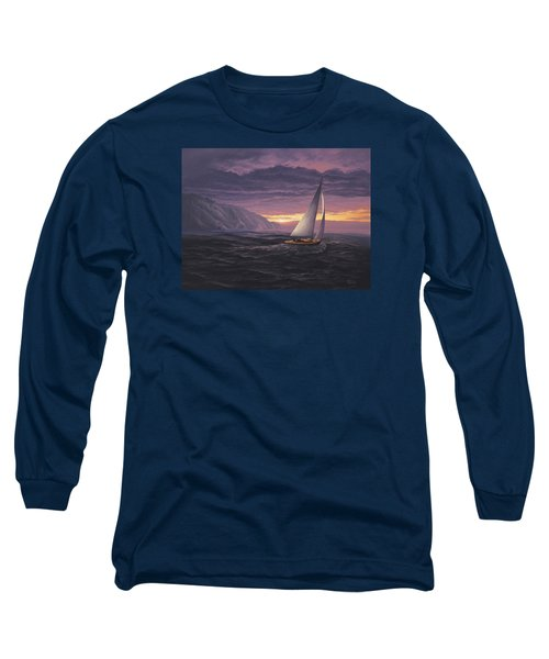 Sailing In Paradise - Big Sur Long Sleeve T-Shirt