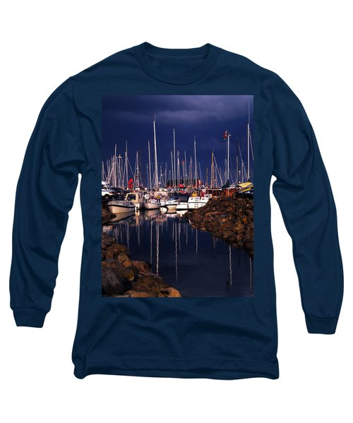 Long Sleeve T-Shirt featuring the photograph Samsoe Island Denmark by Colette V Hera  Guggenheim
