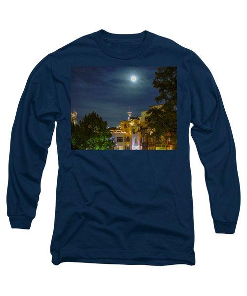 San Antonio Cityscape Long Sleeve T-Shirt