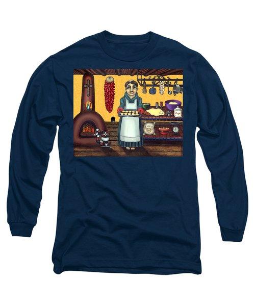 San Pascual Making Biscochitos Long Sleeve T-Shirt