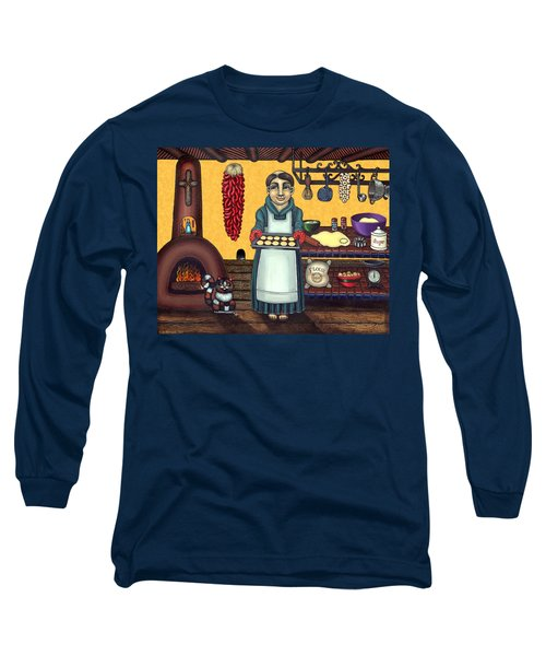San Pascual Making Biscochitos Long Sleeve T-Shirt