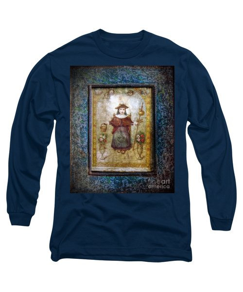 Santo Nino De Atocha Long Sleeve T-Shirt by Savannah Gibbs