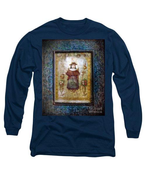 Santo Nino De Atocha Long Sleeve T-Shirt
