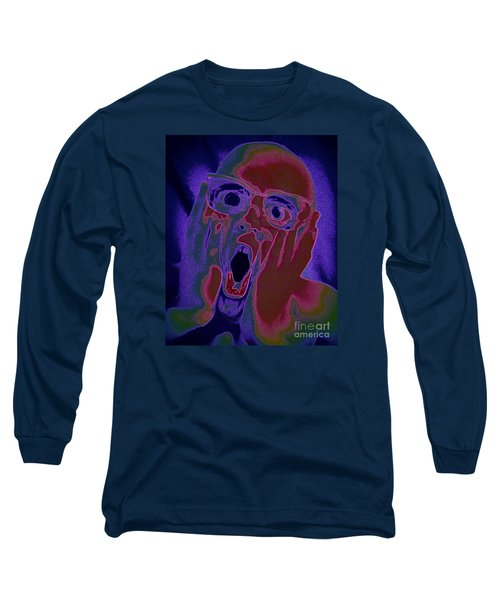 Scared Silly Long Sleeve T-Shirt by Paul  Wilford