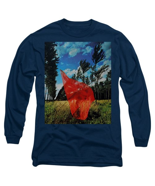Scarf In The Winds Long Sleeve T-Shirt