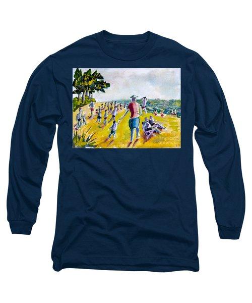 School's Out On The Beach Long Sleeve T-Shirt