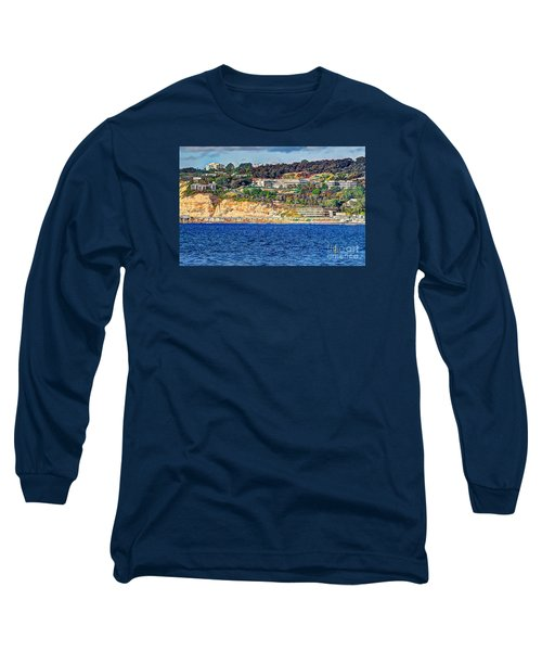 Scripps Institute Of Oceanography Long Sleeve T-Shirt by Jim Carrell