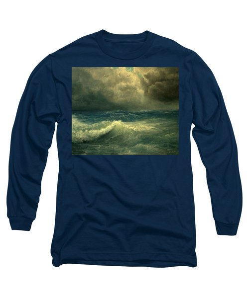 Sea And Sky Long Sleeve T-Shirt by Mikhail Savchenko