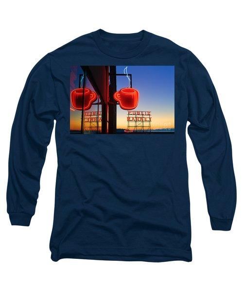 Seattle Coffee Long Sleeve T-Shirt