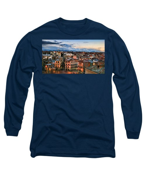 Segovia Nights In Spain By Diana Sainz Long Sleeve T-Shirt