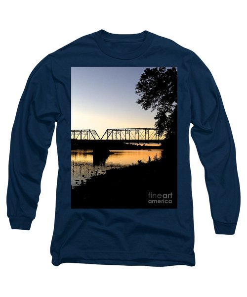 September Sunset On The River Long Sleeve T-Shirt