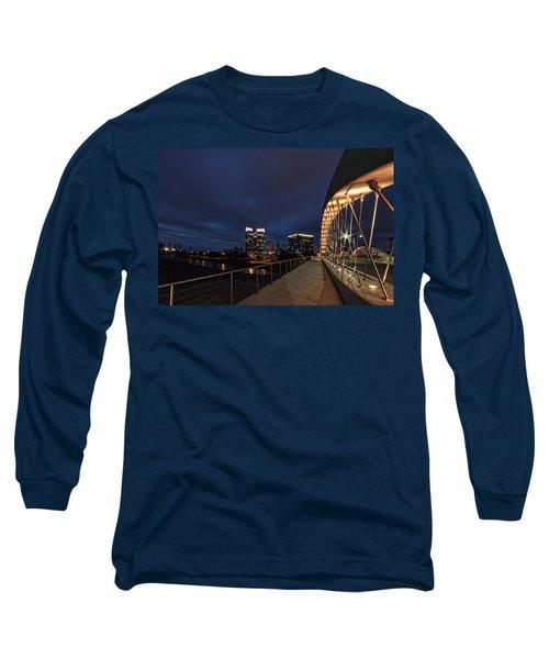 Seventh Avenue Bridge Fort Worth Long Sleeve T-Shirt