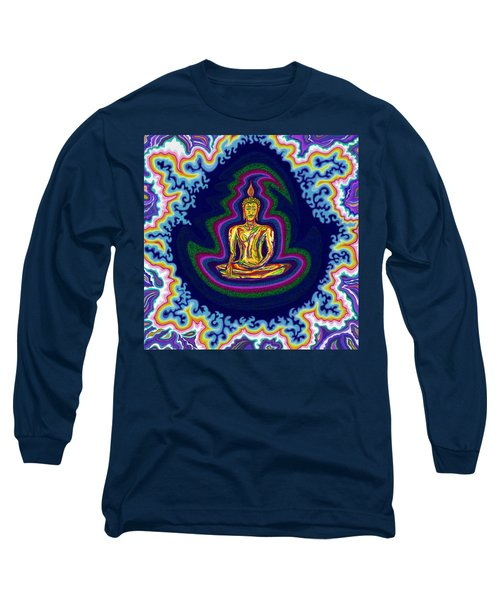 Seventh Heaven Buddha Long Sleeve T-Shirt