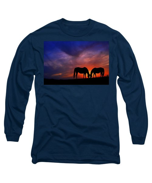 Sharing Supper Long Sleeve T-Shirt