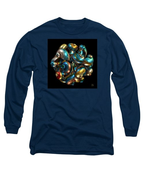 Shell Congregation Long Sleeve T-Shirt by Manny Lorenzo