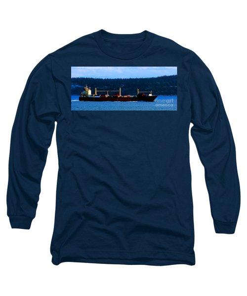 Shipping Lane Long Sleeve T-Shirt