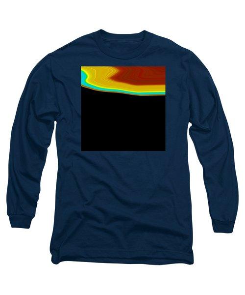 Shoreline I  C2014 Long Sleeve T-Shirt by Paul Ashby