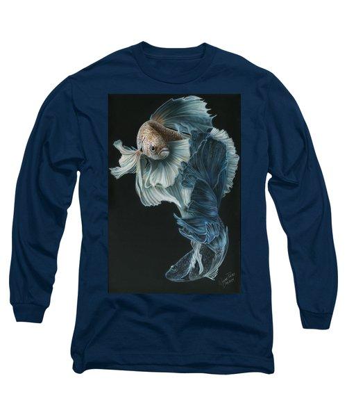 Siamese Fighting Fish Three Long Sleeve T-Shirt