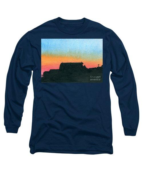 Silhouette Farmstead Long Sleeve T-Shirt by R Kyllo