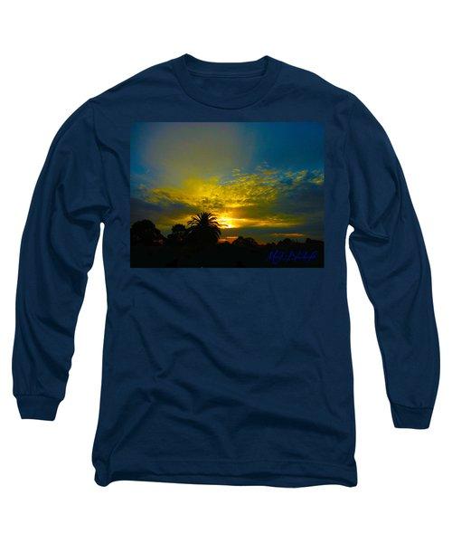 Silken Sunset Long Sleeve T-Shirt