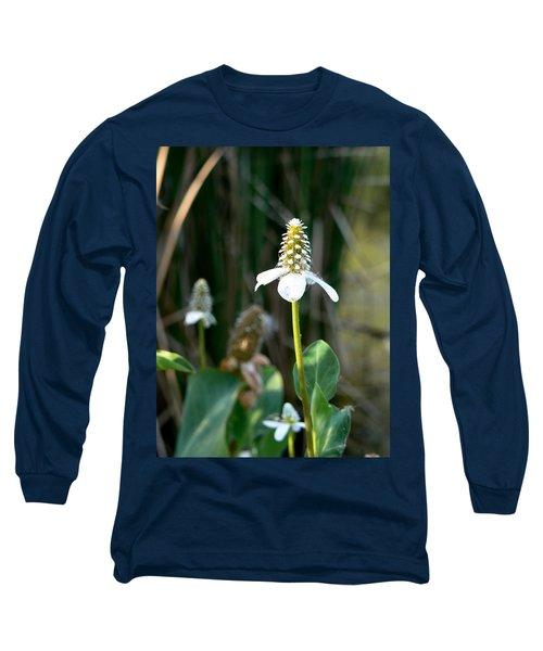 Simple Flower Long Sleeve T-Shirt by Laurel Powell
