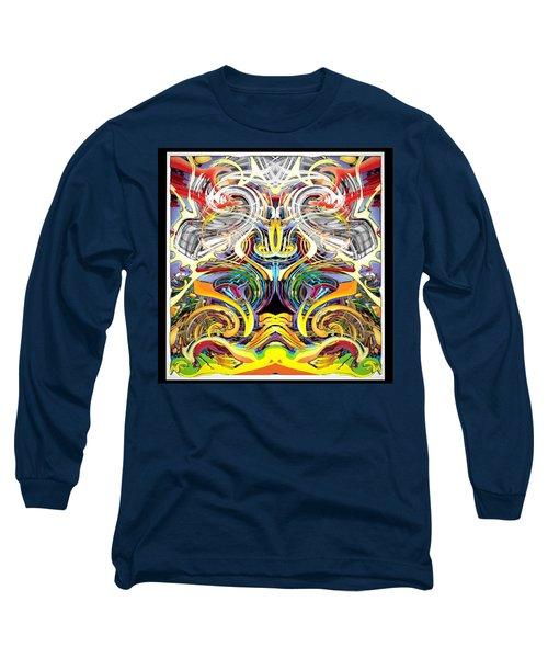 Simulated Beats B Vector 6  Long Sleeve T-Shirt