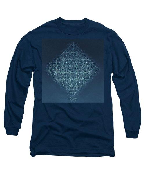 Sine Cosine And Tangent Waves Long Sleeve T-Shirt by Jason Padgett