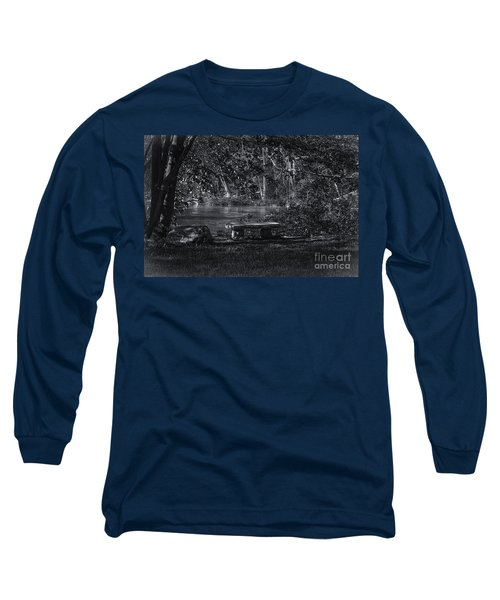 Long Sleeve T-Shirt featuring the photograph Sit And Ponder by Mark Myhaver