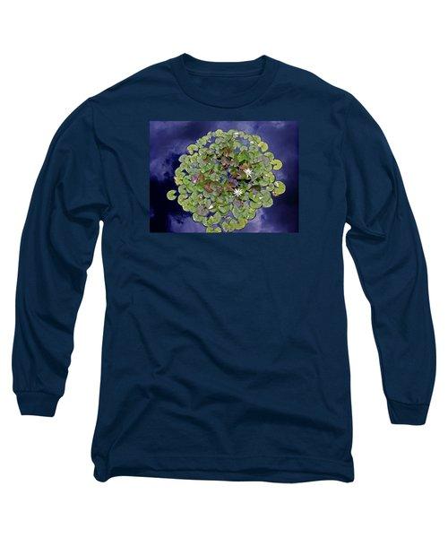 Sky Lilies Long Sleeve T-Shirt