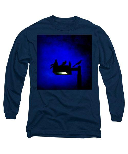 Sleepless At Midnight Long Sleeve T-Shirt