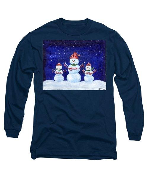 Snowmen Long Sleeve T-Shirt