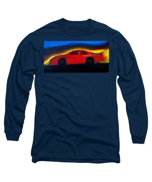 Some Have Seen The Air Long Sleeve T-Shirt by Stacy C Bottoms