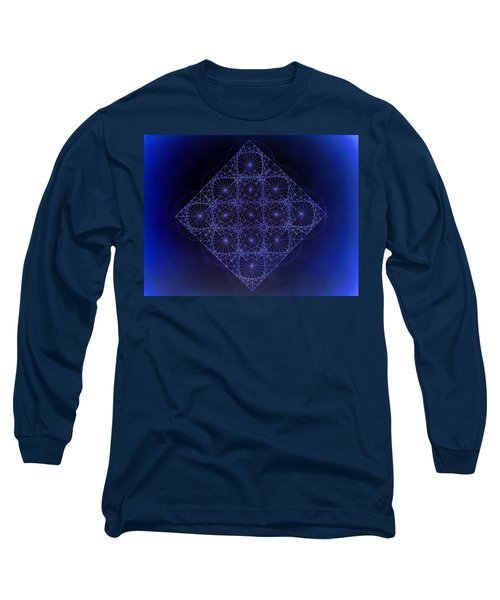 Space Time Sine Cosine And Tangent Waves Long Sleeve T-Shirt