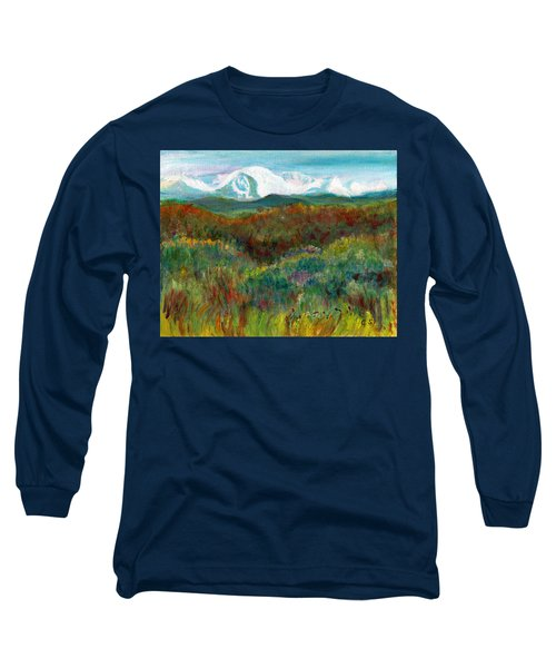 Spanish Peaks Evening Long Sleeve T-Shirt by C Sitton