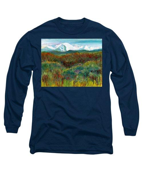Spanish Peaks Evening Long Sleeve T-Shirt