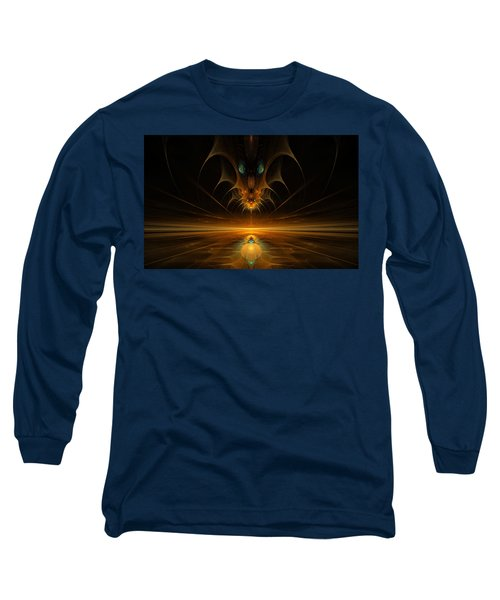 Spirit In The Sky Long Sleeve T-Shirt by GJ Blackman