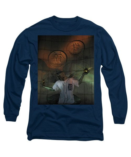 Spirit Of Detroit Tigers Long Sleeve T-Shirt