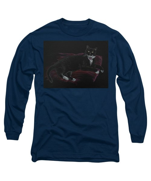 Spooky The Cat Long Sleeve T-Shirt