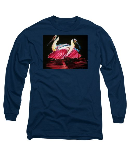 Spoon Dance Sold Long Sleeve T-Shirt by Lil Taylor