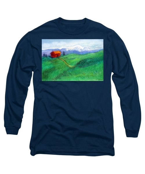 Spring Day Long Sleeve T-Shirt by C Sitton