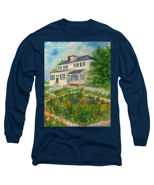 Spring In Colonial Williamsburg- Cole House Long Sleeve T-Shirt