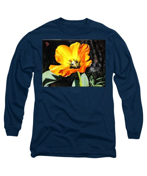 Spring Tulip Long Sleeve T-Shirt